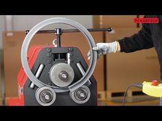 maquina casera riza-dobla-torsiona-rola y hace piñas todo en frio - YouTube