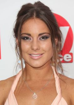 Louise Thompson always has a glowing complexion and well defined eyes [Wenn]