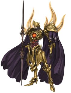 Armadura do Cavaleiro Dourado