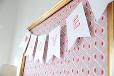 Heirloom Paperie: FREE Template: LOVE banner