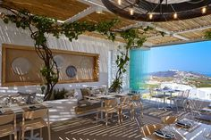 Pyrgos Restaurant, Perissa, 2017 - PEDRALI