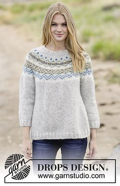 Ravelry: 166-1 Sjona pattern by DROPS design
