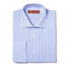 Camisa banquero azul