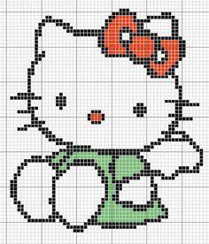kitty met strik