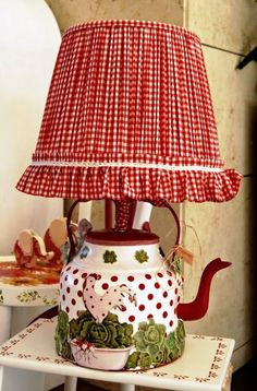 Beautiful lamp for my cottage kitchen