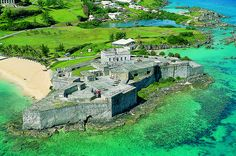 Historic Town of St George and Related Fortifications, Bermuda Fort St Catherine by GoToBermuda, via Flickr