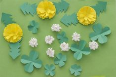 Preschool Crafts, Diy Crafts For Kids, Origami Simple, Paper Art, Paper Crafts, Spring Is Coming, Paper Toys, Handmade Flowers, Paper Flowers