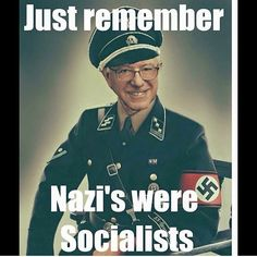 I can't believe people are comparing Bernie Sanders to a Nazi. Infuriating & sad.