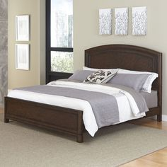 Crescent Hill Panel Bed