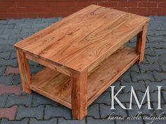 stolik z pięknej akacji indyjskiej, dizajnerskie #meble w dobrej cenie
