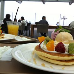SCENIC CAFE at Haneda airport