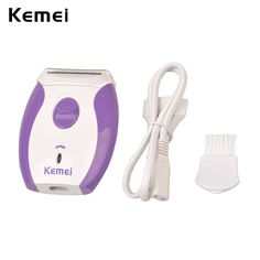 Kemei Depilatory Women Epilator Electric Shaver Bikini Shaving Razor Hair  Removal Trimmer Face Body Underarm Leg Arm Depilation-in Electric Shavers  from ... 337edc2f66