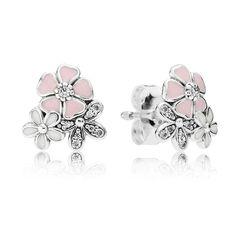 6a2f32ecb Pandora Silver Poetic Blooms Earrings 290686ENMX. Pandora Compatible  CharmsPandora Rings For SaleDisney ...