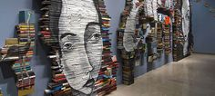 Book Paintings by Mike Stilkey | DeMilked