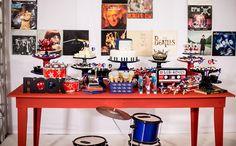 Festa infantil com o tema rock no 'Fazendo a Festa' - Fazendo a Festa - GNT