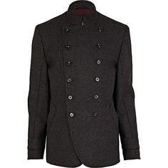 Grey military coat   Men's fashion   Pinterest   Coats, Grey and ...