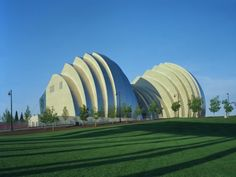 The beautiful Kauffman Center for the Performing Arts