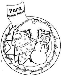 Bolas de navidad colorear 8  NAVIDAD  Pinterest
