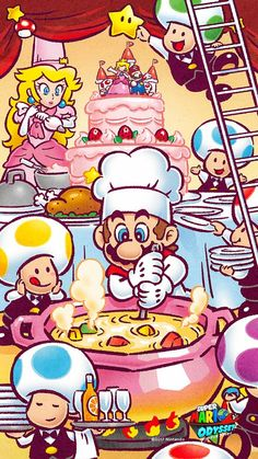 Super Mario Cooking