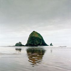 This is Cannon Beach about 72 miles northwest of Portland, Oregon