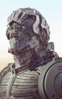 Bot.  cyberpunk, robot girl, cyborg, futuristic, android, sci-fi, science fiction, cyber girl, digital art