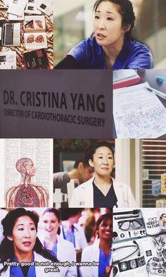 Cristina Yang wallpaper by Ludmylla Sousa Greys Anatomy Derek, Greys Anatomy Facts, Meredith And Christina, Meredith Grey, Movies Showing, Movies And Tv Shows, Cristina Yang Quotes, Castle Tv, Phone Wallpapers