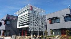 CA - Xilinx Headquarters Silicon Valley | Noll and Tam arch. EQUITONE [natura] N281 facade materials. address: 2100 Logic Drive San Jose, CA 95124-3400