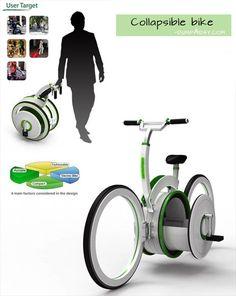 Genius Ideas- collapsible bike