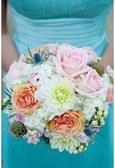 Spring Wedding Shabby Chic Theme with Pastels