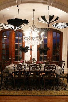 ♥ wonderful idea ~ Paris soiree theme party.
