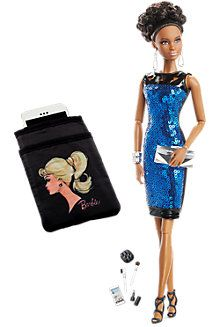 COCKTAIL W ~ DRESS ~ MODEL MUSE BARBIE DOLL ANDY WARHOL CAMPBELL/'S SOUP MINI