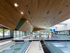 Image 1 of 15 from gallery of Regent Park Aquatic Centre / MacLennan Jaunkalns Miller Architects. Photograph by Shai Gil