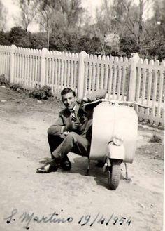 1954 - Vintage Vespa