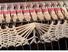 Knitting Machine Projects Brother Embroidery Designs New Ideas Knitting Machine Patterns, Poncho Knitting Patterns, Machine Embroidery Projects, Knitting Stitches, Knitting Yarn, Embroidery Designs, Butterfly Stitches, Knitting Help, Brother Embroidery