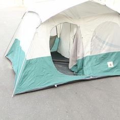 Vintage Eureka Canvas Cabin Tent About 8u00276  x 11u00276  With Rainfly - Needs TLC & Vintage Blanchard Draw Tite Canvas Tent Circle Champion CCC Brand ...
