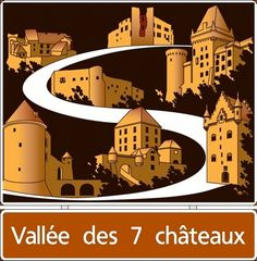 The Valley of the 7 castles:  http://www.septchateaux.lu/content.aspx?CategoryID=700