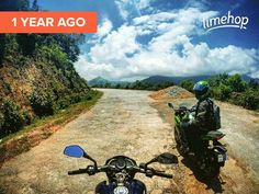 Exactly a year ago one of my favorite ride through bisle ghat.  #wanderlust #timehop #bisleghat #karnataka
