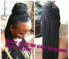 5 Gorgeous Twist Braid Styles that you will Surely Love Black Girl Braids, Braids For Black Hair, Girls Braids, African Braids Hairstyles, Twist Hairstyles, Hairstyles Haircuts, Long Haircuts, Black Hairstyles, Twist Braids