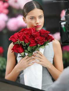 !!! Red Roses !!! Adriana Lima