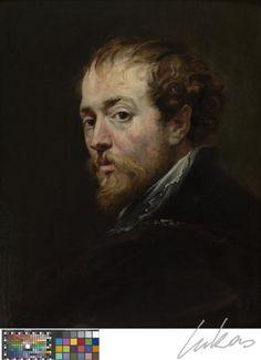 RUBENS Pieter Paul - Flemish (Siegen 1577-1640 Antwerp) - self portrait