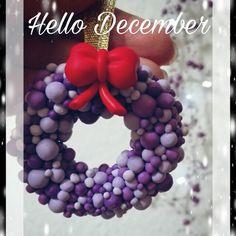 Polymer Clay Wreath More Christmas time decorations #myfimo #handemade #fattoamano #fattoconilcuore #christmas #fattoconamore #artigianato #followme #arte #acqistahandmade #buyhandmade