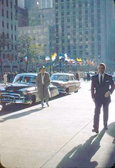Rockefeller Center, Manhattan, 1957.