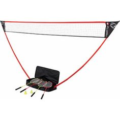 Zume Badminton, 4 Players Please get this for me for my birthday!  I challenge you to a game!