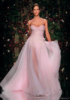 pink wedding dresses   -Abed Mahfouz 2011  http://www.weddinginspirasi.com/2011/06/07/abed-mahfouz-spring-2011-couture-dresses/