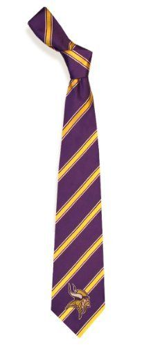 Minnesota Vikings NFL Football Sports Team Striped Mens Neck Tie -- Check  out the image by visiting the link. 0f3c0ed777be