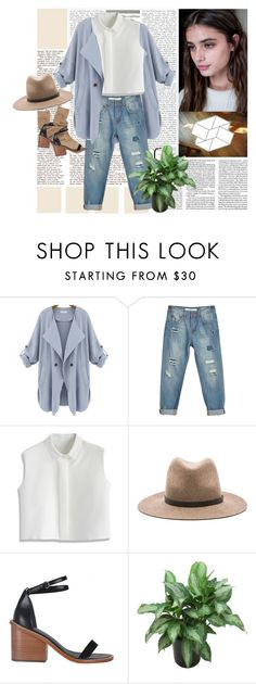 """""""warm tones on a not-so-warm day"""" by a-jwil ❤ liked on Polyvore featuring Chicwish, rag & bone, TIBI and AMANTES AMENTES"""