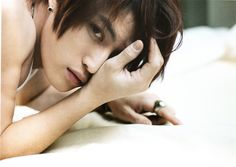Jaejoong (JYJ) getting his gorgeous guy pose on.