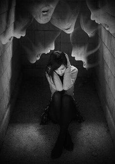 Shattered and alone...