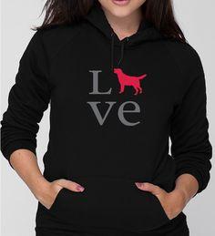 Unisex Love Lab Hoodie - Righteous Hound