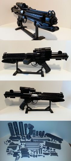 Star Wars 49212: Storm Trooper Uber E-11 Blaster Rifle Model Hero Kit Anh Screen Accurate Replica -> BUY IT NOW ONLY: $149 on eBay!